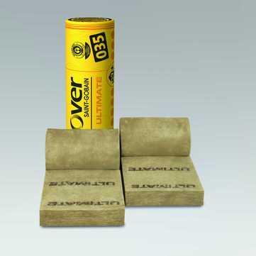 SAINT-GOBAIN ISOVER Ultimate WF 100 mm Wandkassettenfilz 5000x600x100 mm WLS 035