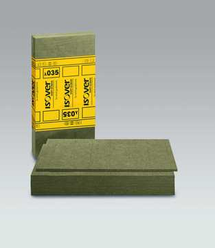 SAINT-GOBAIN ISOVER Protect BSP 100 100mm Brandschutzplatte 1200x625mm 1,50m2 im Paket WLS 035