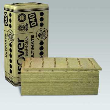 SAINT-GOBAIN ISOVER Ultimate 1250x625x100mm Trennwandplatte 3,906m2 im Paket WLS 040