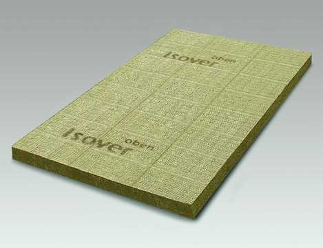 SAINT-GOBAIN ISOVER Topdec Loft 1200x625x100mm Dachbodendämmplatte 1,50m2 im Paket WLS 035