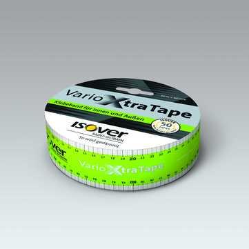 SAINT-GOBAIN ISOVER Vario Xtra Tape 60mm 20m je Rolle, Klebeband 03mm