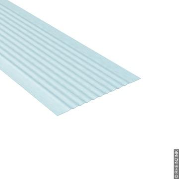 RHEINZINK UDS-Verbinder 250/0,80 mm 3,0 m geriffelt ohne Abkantung Titanzink prePATINA walzblank