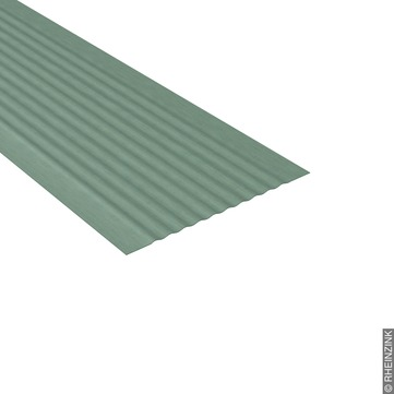 RHEINZINK UDS-Verbinder 333/1,00 mm 3,0 m geriffelt ohne Abkantung Prepatina schiefergrau