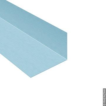 RHEINZINK Winkelstreifen 333/0,7 mm 3 m glatt prePatina Titanzink prePATINA blaugrau