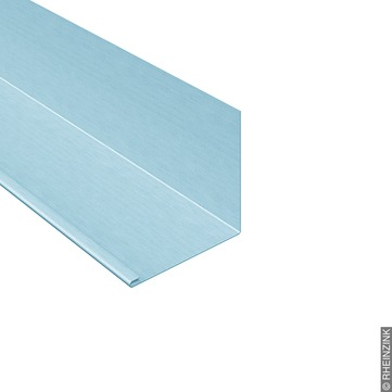RHEINZINK Winkelstreifen 333/0,7mm 3m mit Falz Prepatina blaugrau