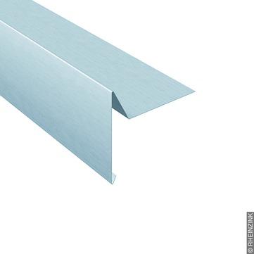 RHEINZINK Windbordleiste 333/0,7mm 3m glatt glatt,B=100mm C=50mm Classic walzblank
