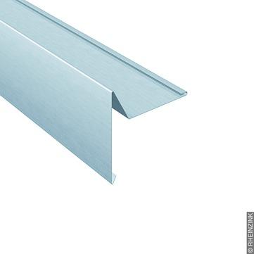 RHEINZINK Windbordleiste 280/0,7mm 3m mit Falz Classic walzblank