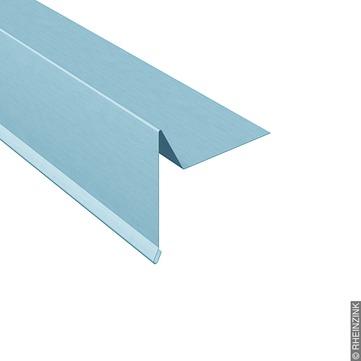 RHEINZINK Windfederprofil 333/0,7 mm 3 m glatt Titanzink prePATINA blaugrau