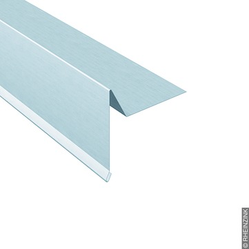 RHEINZINK Windfederprofil 333/0,7mm 3m glatt Classic walzblank