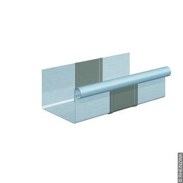 RHEINZINK 6-teilige Rinnendila Kasten 0,80 mm 0,24 m Titanzink prePATINA blaugrau