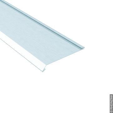 RHEINZINK Nackenblech 167/0,70mm 3m 135 Grad mit Falz Classic walzblank