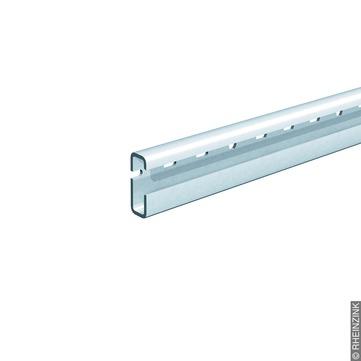 RHEINZINK Rinnenschiene 48x18/3000L passend zum Rinnendrehhalter Alu