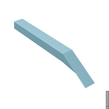 RHEINZINK Traufabschluß 0,80x150x500 mm Leistenkappe Titanzink prePATINA blaugrau