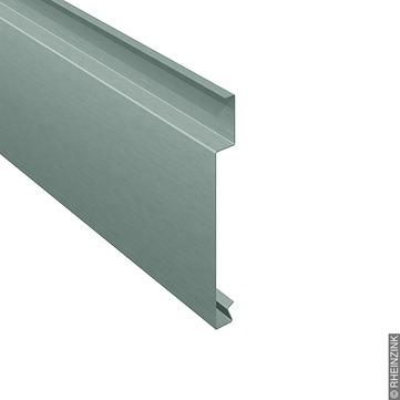 RHEINZINK H-Horizontalpaneel 25-350 mm 301x1,2,prePatina fol. Titanzink prePATINA schiefergrau