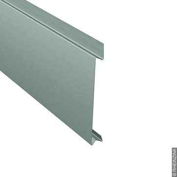 RHEINZINK ST-Stulppaneel 40-400 mm 351x1,0 mm fol. Titanzink prePATINA schiefergrau