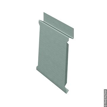 RHEINZINK ST-Stoßblech 25 mm 351-400 mm 2,1 mm prePatina mit Schutzfolie Titanzink prePATINA schiefergrau