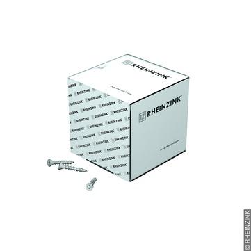 RHEINZINK Clipfix Schraube 4x30mm T20 500 Stück im Karton inkl. Bitumen Weiß
