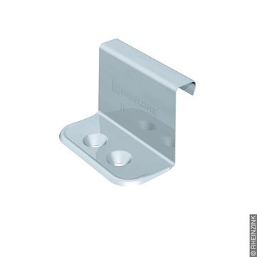 RHEINZINK Festhaft H strukturierte Trennlagen für Stehfalzhöhe 25 mm 300St/Kar Edelstahl