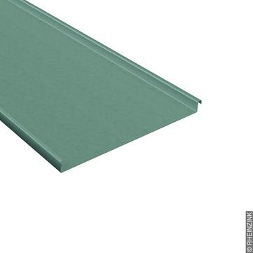 RHEINZINK Schar 0,80x570 500 mm vorprofiliert gerade, für Stehfalzdeckung Prepatina schiefergrau