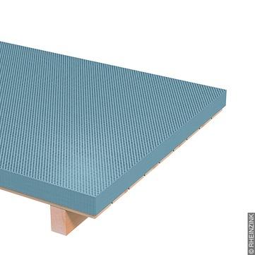 RHEINZINK Tafel 1,00 mm 1000x2000 mm Rundlochblech Titanzink prePATINA blaugrau