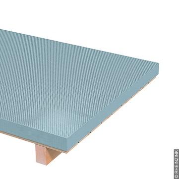 RHEINZINK Tafel 1,00 mm 1000x2000 mm gelocht Titanzink prePATINA walzblank