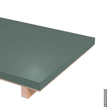 RHEINZINK Tafel 1,00 mm 1000x2000 mm Rundlochblech Folie Titanzink prePATINA schiefergrau