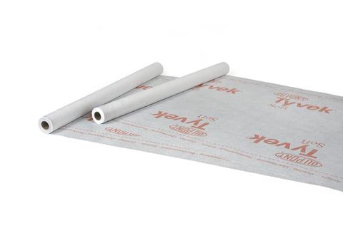 Ampack Fassadenbahn Tyvek Soft 3,00x100 m HDPE Polyethylen-Spinnvlies