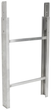 Geda-Dechentreiter Lift 200/250 Leiterteil 1 m mit Ringmutter komplett