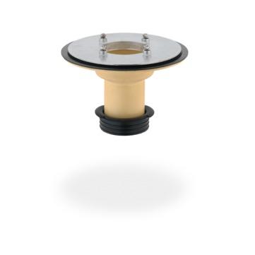SITA Compact Gully Aufstockelement 220 mm wärmegedämmt mit Dichtring Schraubflansch