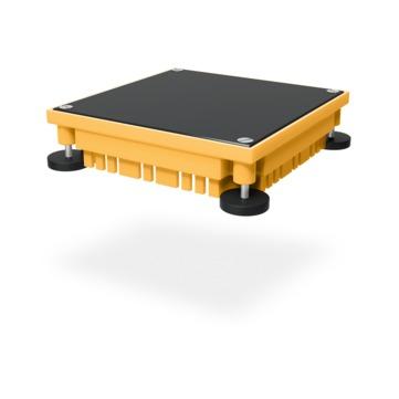 SITA Retention Gründachschacht 233040 400x400mm höhenverstellbar 100-130mm Polyurethan