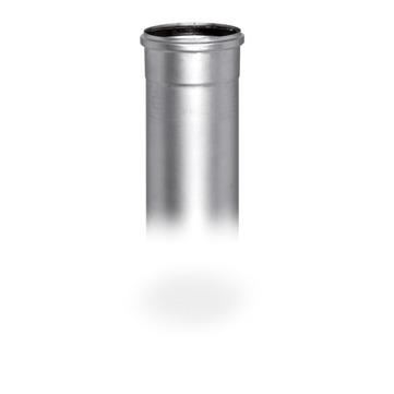 SITA Anschlussrohr mit Muffe DN70 mm mit Steckmuffe 1000 mm Edelstahl V2A