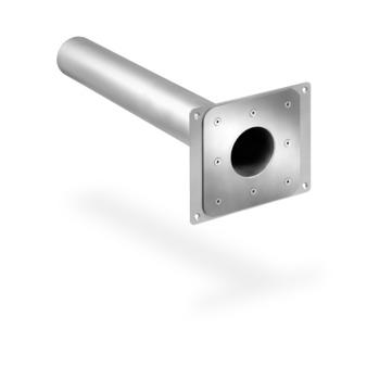 SITA Spy Attikagully DN50 mm 800 mm Wasserspeier 3° Neigung Edelstahl V2A