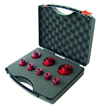 DIE Granitbohrkrone M-14 Set im Koffer 8tlg.
