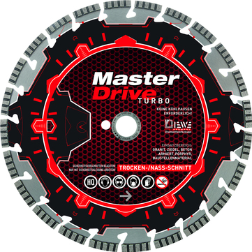 DIE Trennsch.Turbo 350mm       DIAM Master Drive Bohrung.20,00mm