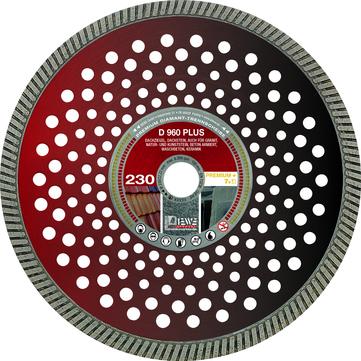 DIEWE Trennscheibe 230 mm D960 Plus Bohrungsdurchmesser 22,23 mm 10 mm