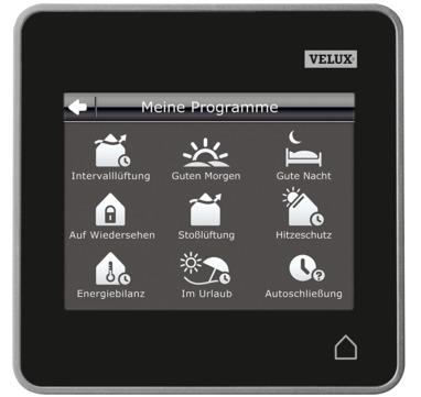 VELUX Elektro-Zubehör KLAR 200 WW Integra control Pad