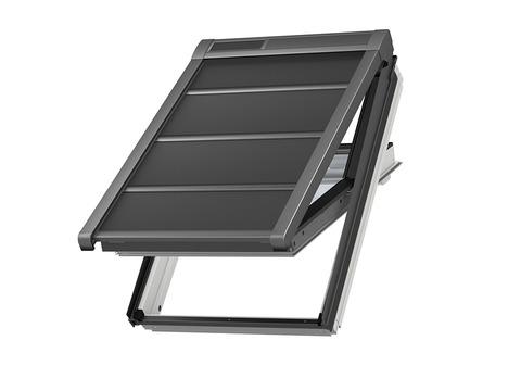 VELUX SSS Größe PK06 (94x118cm) 0000S Markise Solar Universal Alu Dunkelgrau