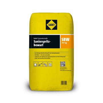 SAKRET Sanierspritzbewurf SBW 30 kg Grau
