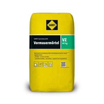 SAKRET Vormauermörtel VZ 40 kg Anthrazit