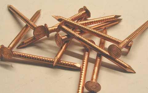 Biermann&Heuer Rinnenhalterstift 4,2x 65 mm Kupfer