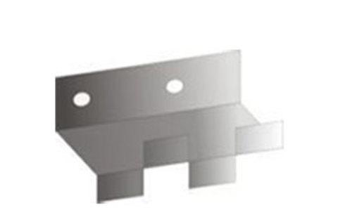 Glapor Dämmstoffhalter 25 für Dämmstoffdicken 40-60mm ohne Dübel Edelstahl 1.4301