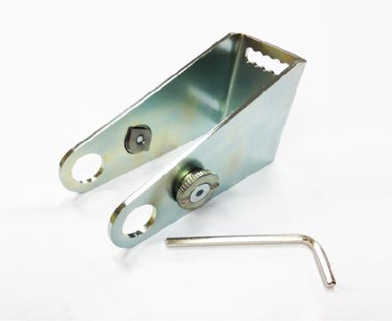 ESSMANN Konsole lang für Typ 970/EM 24V-S+Zylinder mit Klemmsteinen