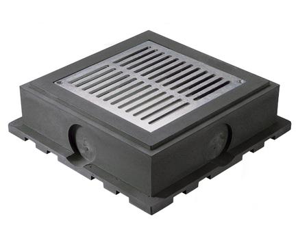 ESSMANN Gründachschacht 500 Aufstockeinheit für 80 mm Erhöhung