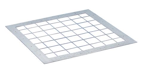 ESSMANN Durchsturzsicherung Karabinerhaken Nachrüstung 120x120 cm Sicherung bauseitiger Öffnung unterhalb Lichtkuppel