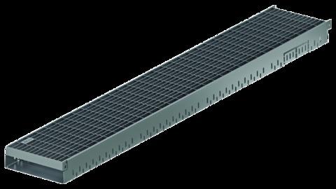 ACO Hochbau Greenline 3. 0 5,0/20,0cm/0,5m 320326 mit Rost 30x10mm Verzinkt