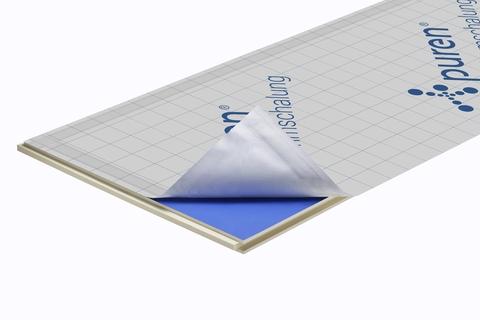 puren Dämmschalung 50 mm Nut/Feder 2400x1020 mm kaschiert WLS 029