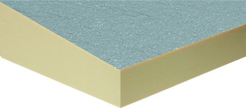 puren Gefälledachdämmplatte GDS AL105-130 1200x1200 mm beidseitig Alu B2 WLS 023