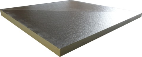 puren Gratplatte GDS AL 105-130mm Set 1200x1200mm beidseitig Alu B2 WLS 023