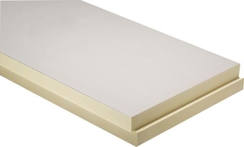 puren Dämmplatte Mineralvlies 80 mm mit Falz 1200x 600 mm kaschiert WLS 027