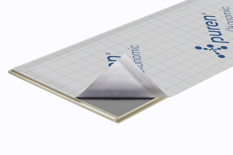 puren Dämmplatte Ökonomic 60 mm Nut/Feder 2400x1020 mm, Berechnungsmaß 2380x1000 mm WLS 028